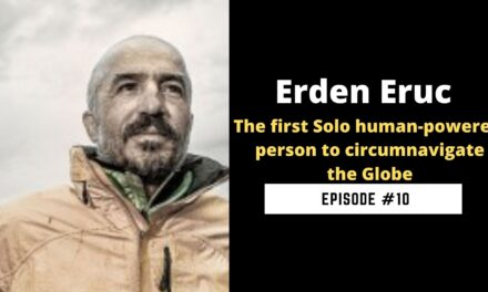 Erden Eruc Human solo powered around the world