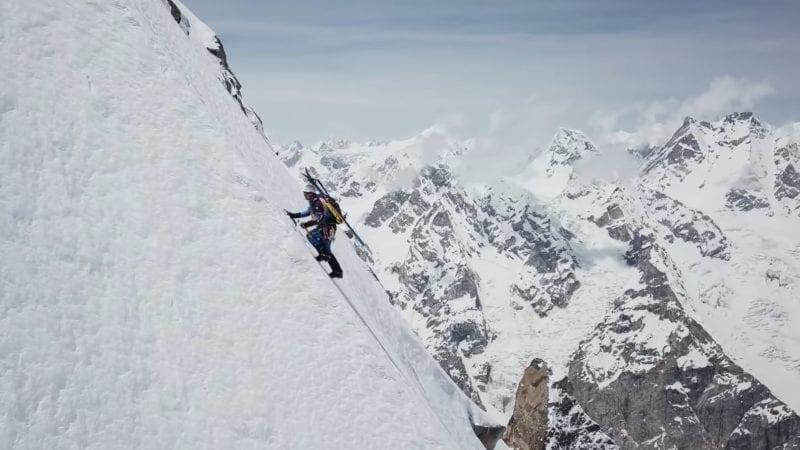 Watch Andrzej Bargiel Ski Steep Laila Peak in Karakoram