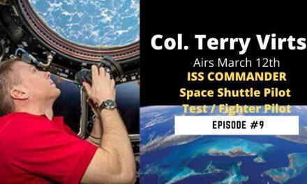 Terry Virts | pilot, astronaut, author, and photographer