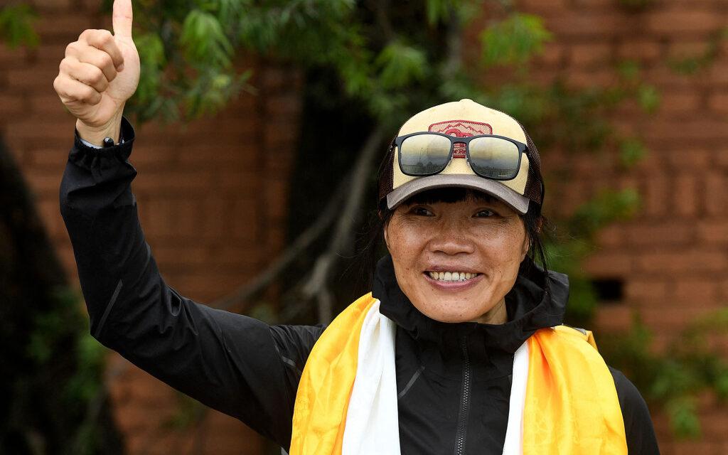 New Women's Speed Record on Everest