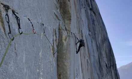 El Cap's Iron Hawk Speed Record Cut in Half