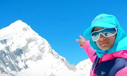 A 12-Year Old Girl is Attempting to Climb One of the World's Highest Peaks